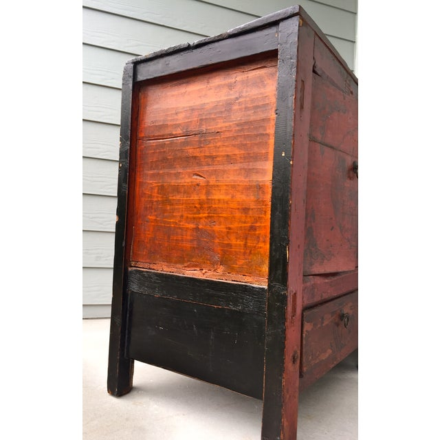 Asian Gansu Sideboard Cabinet - Image 7 of 11