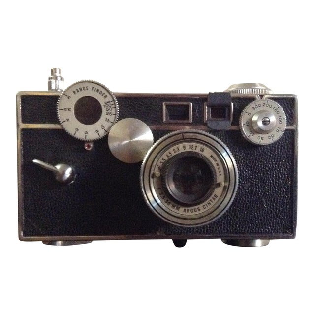 vintage argus c3 35mm camera chairish. Black Bedroom Furniture Sets. Home Design Ideas