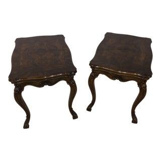 Vintage Karges Side Tables-a Pair For Sale