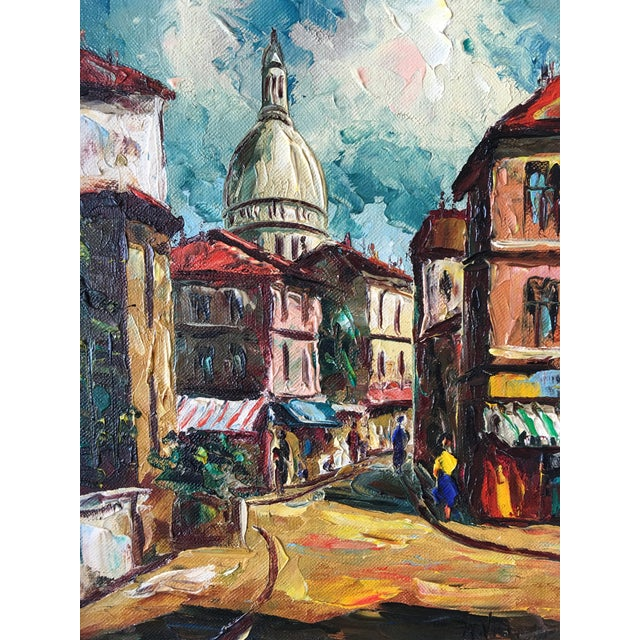 1950s French Oil Painting, Sacre Coeur - Image 2 of 5