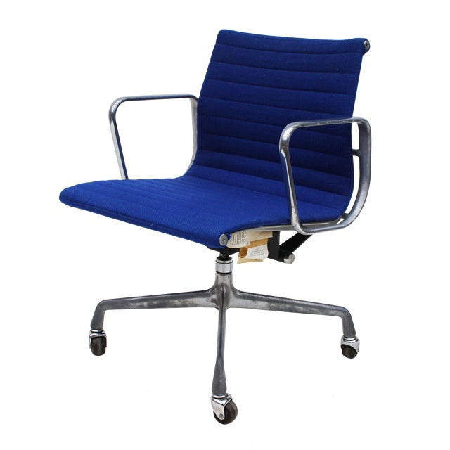 herman miller eames aluminum group task chair chairish