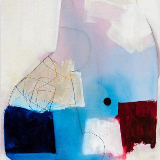 """Abstract Xanda McCagg """"Stand"""", Painting For Sale - Image 3 of 5"""