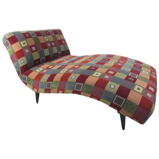 Mid-Century Modern Style Chaise Lounge For Sale