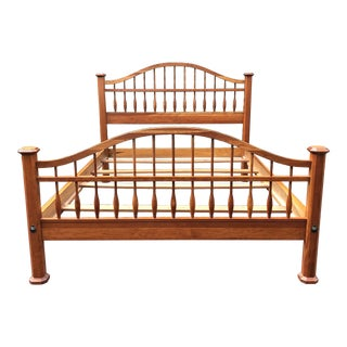 Solid Cherry Jamestown Sterling Queen Bed For Sale