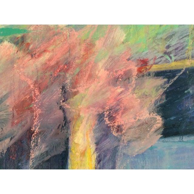 Barbara Borck-Hart Oil Pastel - Untitled #1 For Sale - Image 4 of 4