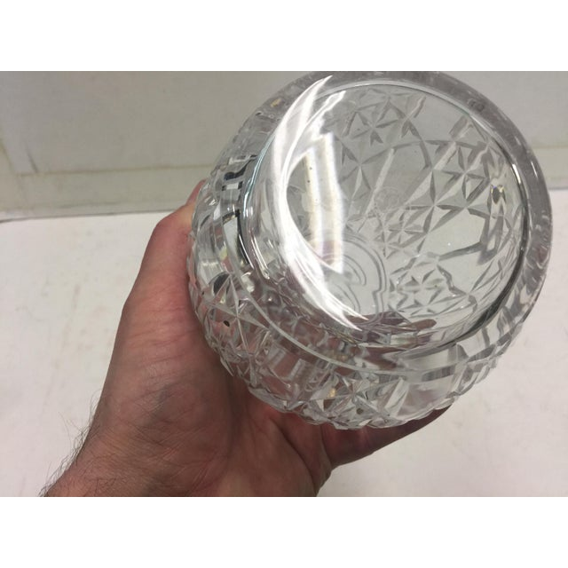 Traditional Baccarat Decanter Juigne Pattern For Sale - Image 3 of 4