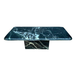 Vintage Italian Marble Coffee Table For Sale
