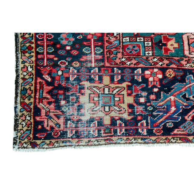 1920s Large Heriz Rug - 11′4″ × 14′1″ For Sale - Image 10 of 11