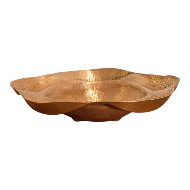 Hand Hammered Copper Server - Image 1 of 6
