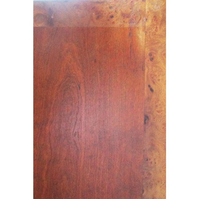 Ornate Burled Wood Hollywood Regency Dresser Cabinet By Peppler For Sale In Los Angeles - Image 6 of 9