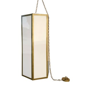 Vintage Modern Hanging Pendant Light For Sale