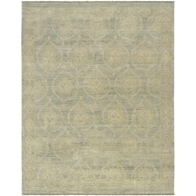 "Pasargad Ottoman Collection Rug - 6'2"" x 9' - Image 1 of 2"