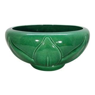 Jaru 1980's Lotus Pottery Planter Bowl