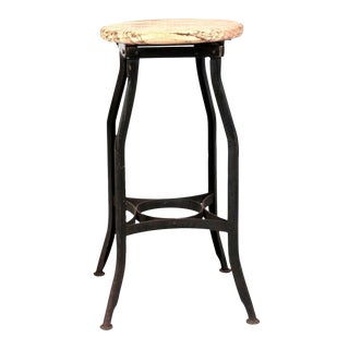 Classic Industrial Stool For Sale
