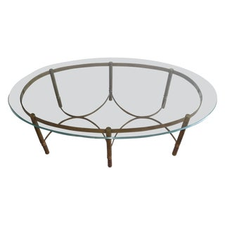 Mastercraft Brass CoffeeTable For Sale