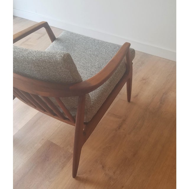 Wood 1950s Folke Ohlsson Armchair 72-C for Dux For Sale - Image 7 of 13
