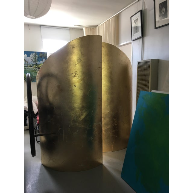 Contemporary Gold Walls Sculpture by Martha Holden For Sale - Image 4 of 7