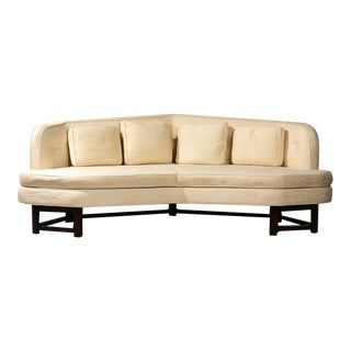 Edward Wormley for Dunbar 'Janus' Sofa Model 6329, Circa 1950s For Sale