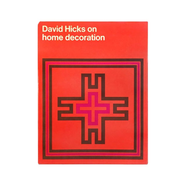 """""""David Hicks on Home Decoration"""" First Edition Design Book For Sale"""