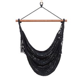 Alba Swing in Charcoal Black + Walnut Rod For Sale