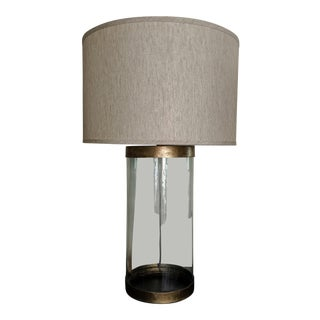 Currey & Co. Glasshouse Table Lamp For Sale