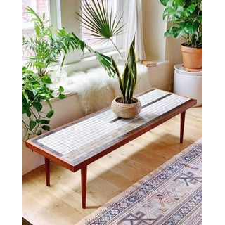 Arts and Crafts Mosaic Tile Coffee Table by Martz Preview