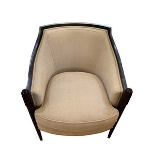 Barbara Barry for Baker Furniture Deco Chair For Sale