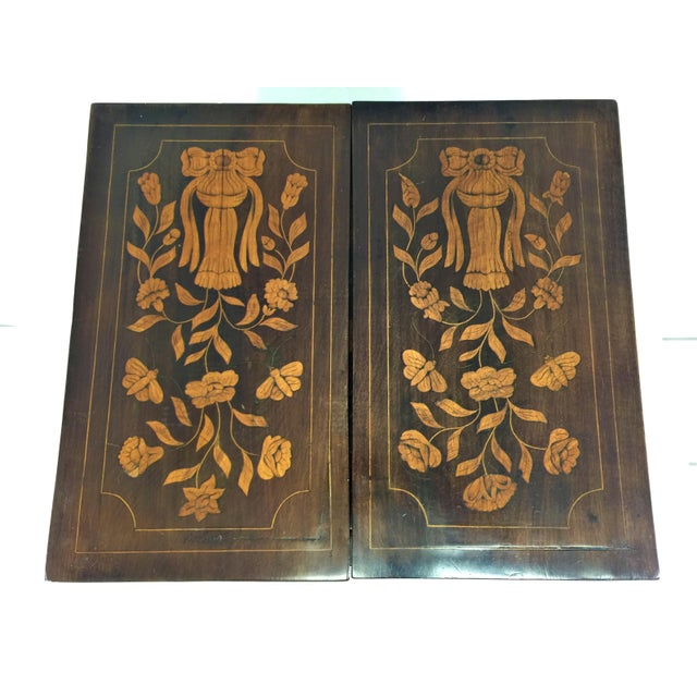 Antique Marquetry Inlaid Dressing Table For Sale - Image 10 of 13