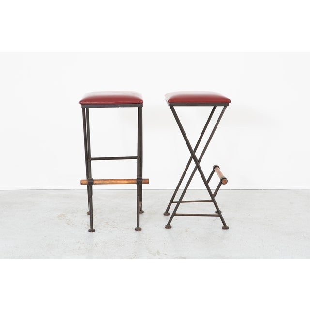 Contemporary Set of Cleo Baldon Stools For Sale - Image 3 of 11