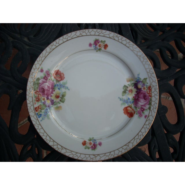Traditional Japanese Dessert Plates - Set of 5 For Sale - Image 3 of 5