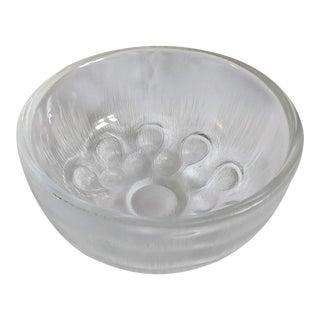 1970s Orrefors Sven Palmqvist Art Glass Bowl For Sale