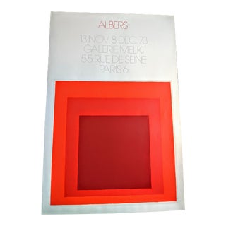 Josef Albers Homage to the Square: Galerie Melki 1 1973 For Sale