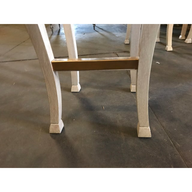 """2010s Truex American Furniture """"Golden Gate"""" Bar Stool For Sale - Image 5 of 7"""