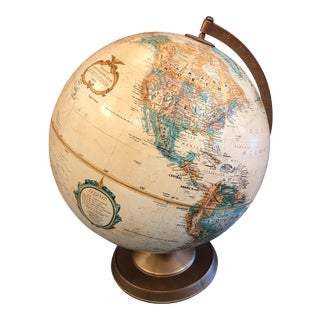 "Vintage 12"" Replogle World Globe"