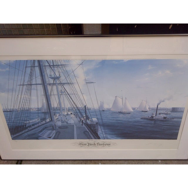 John Mecray New York Harbour Print, 1851 For Sale - Image 4 of 10