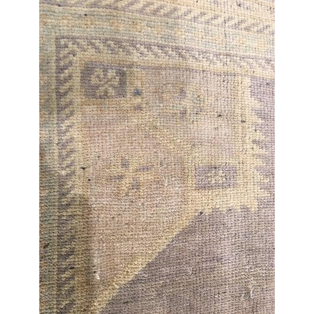 "Vintage Bellwether Rugs Turkish Oushak Rug - 5'6""x9'11"" - Image 8 of 9"