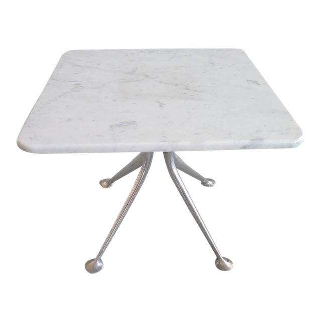 Aluminum 1960s Vintage Alexander Girard for Herman Miller Occasional Table For Sale - Image 7 of 7