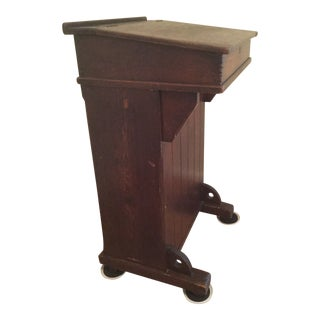 Early 20th Century Antique English School Masters Lectern