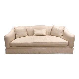 Baker Barbara Barry Ivory Upholstered Sofa