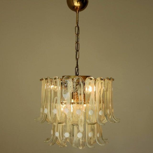 Luxury italian vintage murano glass chandelier by mazzega decaso italian italian vintage murano glass chandelier by mazzega for sale image 3 of 8 aloadofball Images