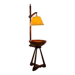 1970's Vintage Arts and Crafts Floor Lamp For Sale