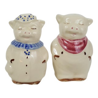 Shawnee USA Salt & Pepper Shakers - A Pair For Sale