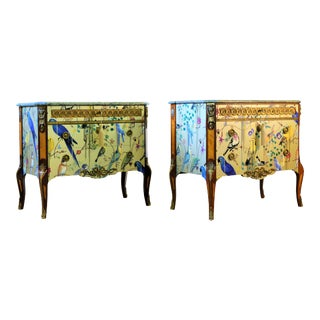 Christian Lacroix Style Commodes - a Pair For Sale
