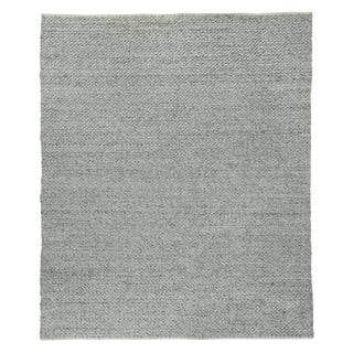 Witten Gray Flatweave Polyester/Cotton Area Rug - 10'x14' For Sale