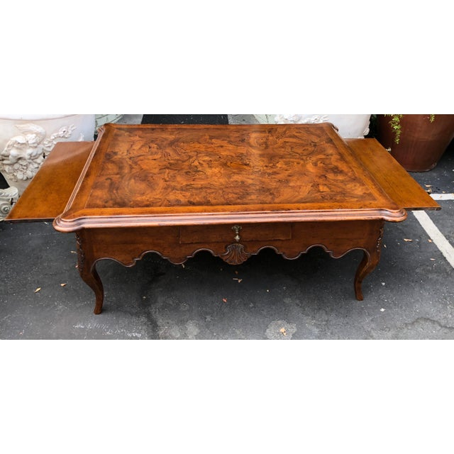 Signed David Michael Formal Living Coffee Table For Sale - Image 4 of 7