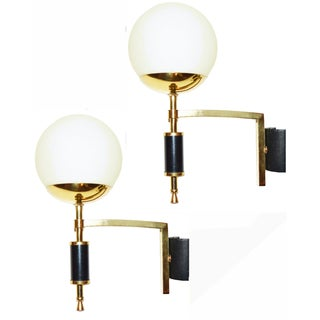 French Maison Arlus Sconces - A Pair For Sale