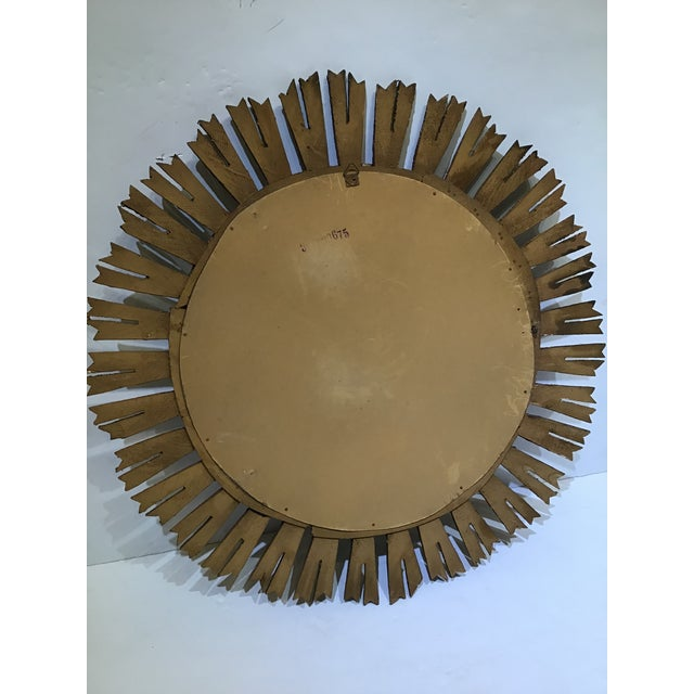 This a great looking mid Century French sunburst mirror in great condition these thing a so popular now and really give a...