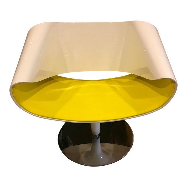Contemporary Martin Bellandat Perillo Club Chair For Sale