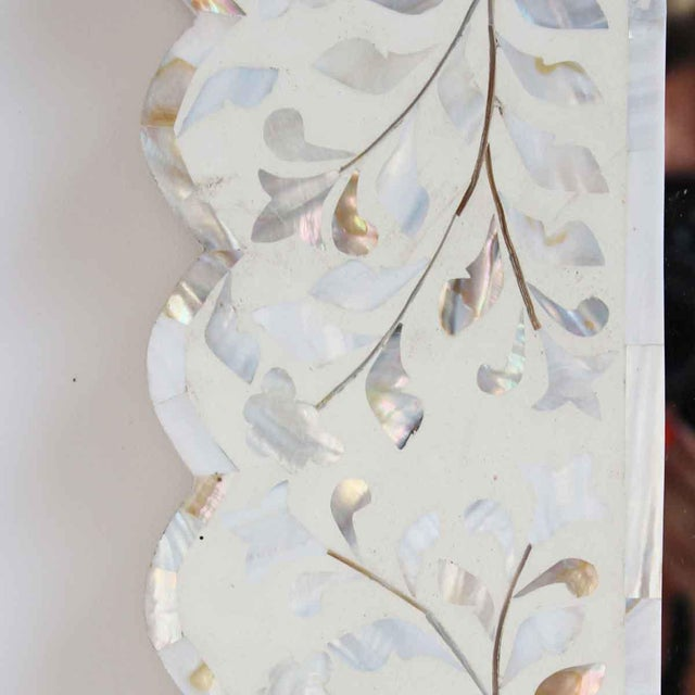 Mother of Pearl & Bone Mirror - Image 2 of 2