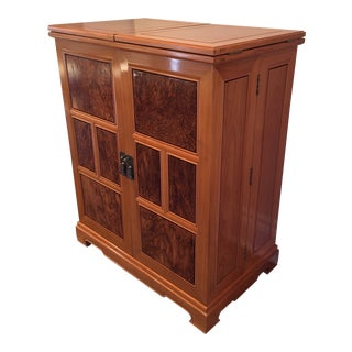 Late 20th Century Bar Cabinet For Sale